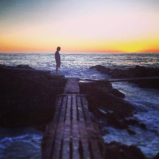 De frente al mar!  Ph @joaquina81 , nuestra diseñadora totalmente #freelance  #puntadeleste #uruguay #sea #atlántico