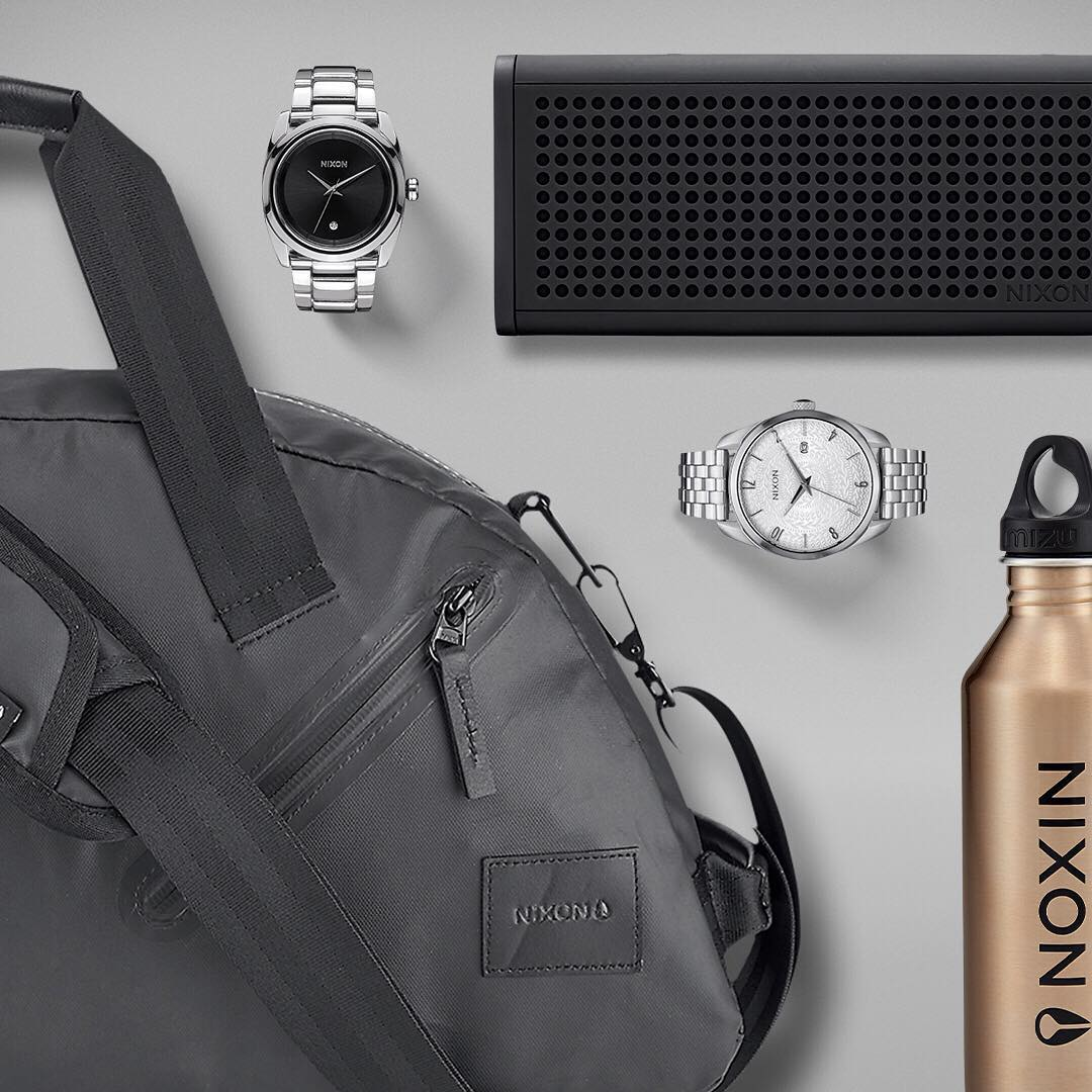 Outfit the adventuress with #Nixon's holiday travel essentials for time well spent on the road. #GetGifting #BlasterPro
