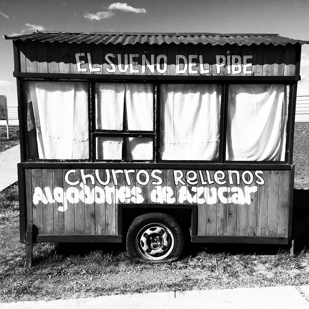 A soñarla, churros!! #tierradelfuego #trippingmood