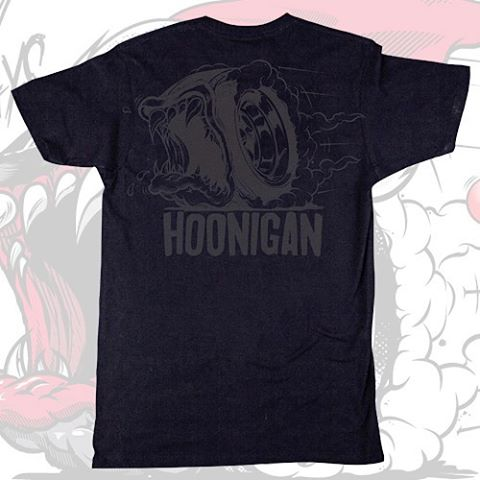 HNGN Holiday Countdown: TODAY ONLY! We saved a few black on black Creature of the Hoon tees just for our holiday countdown. Get over to #hooniganDOTcom quick because once they're  gone, they're gone.