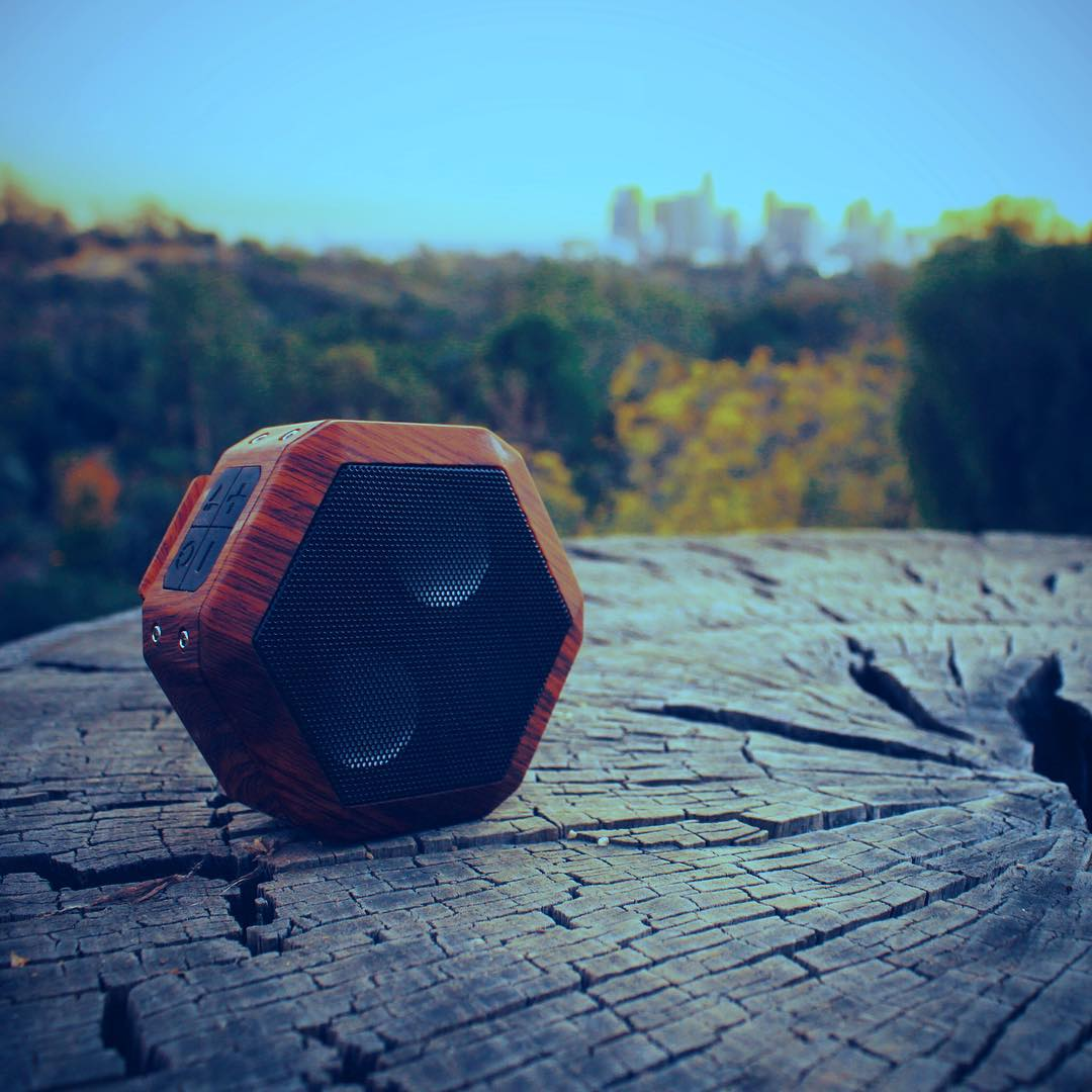 Bump those nature sounds. #weouthere