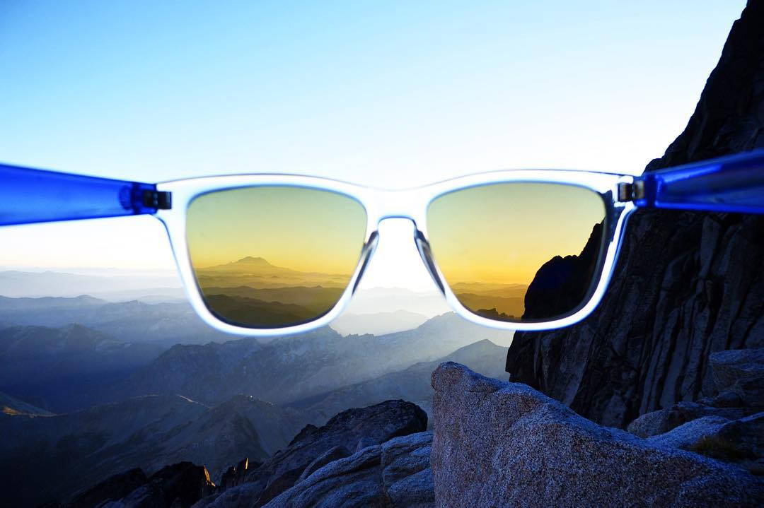 Mountaintop views through Blue Originals