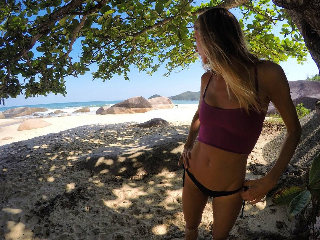 Kuau Reversible Top #katwai #swimwear