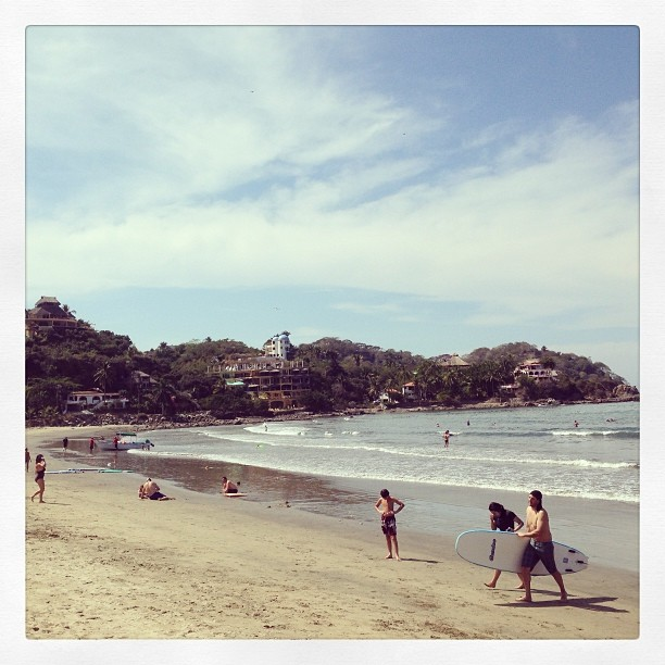 Amazing surf town of Sayulita in Mexico. #surf #mexico #sayulita #nayarit http://instagram.com/p/k2tl5gtVkt/