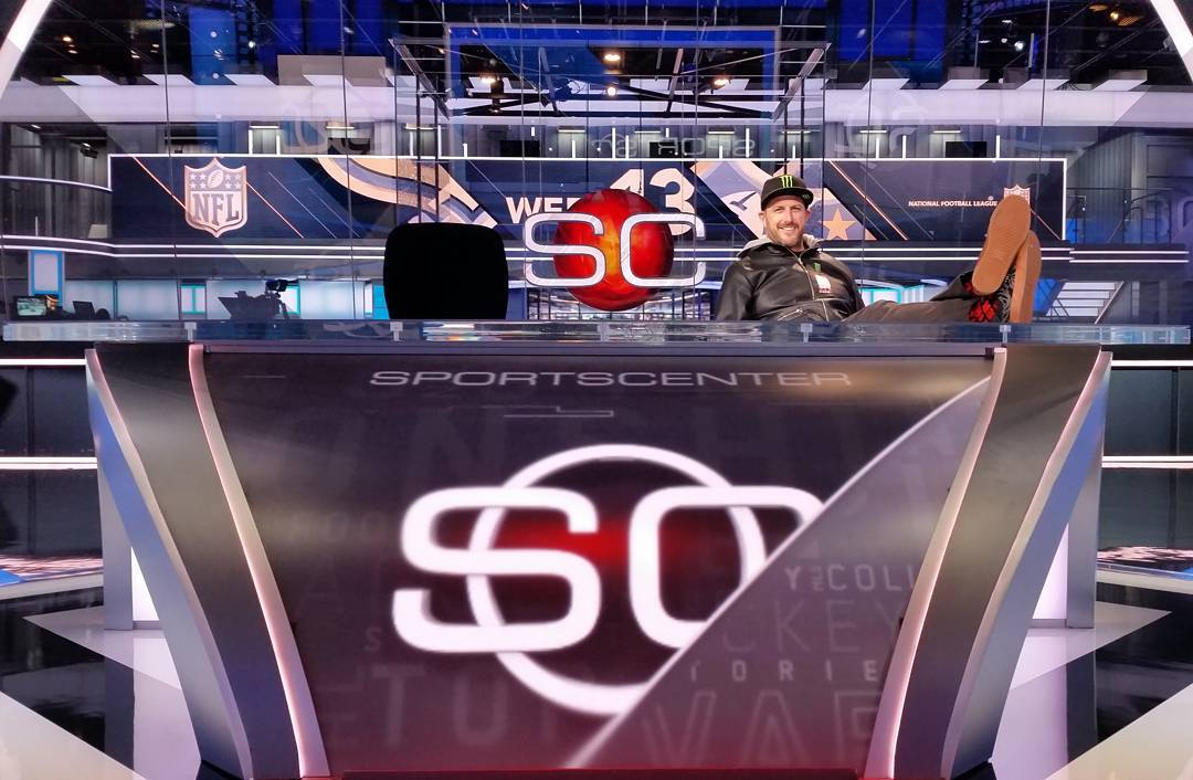 @KBlock43 set @ESPN HQ on