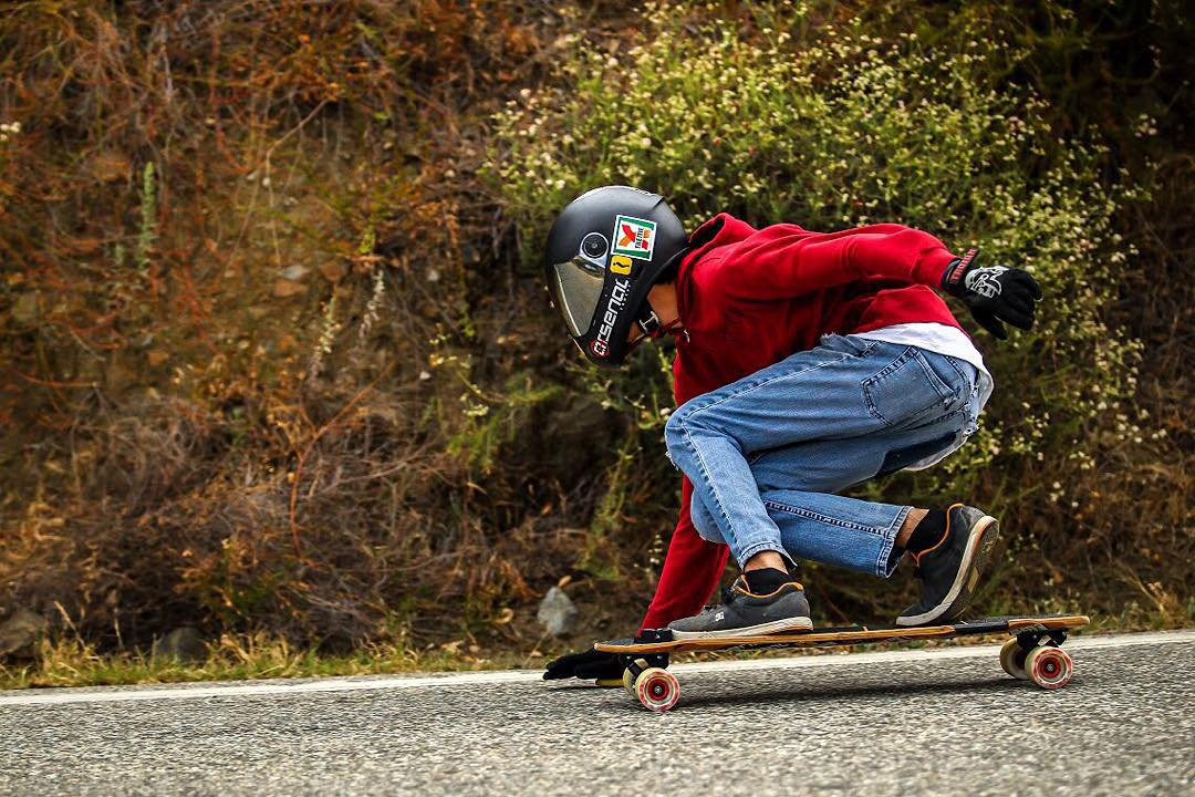 Johnny Ruiz (@johnny_bfc) keeps it casual on one of his favorite local runs. Rolling through turn after turn, we know it's all in good fun.