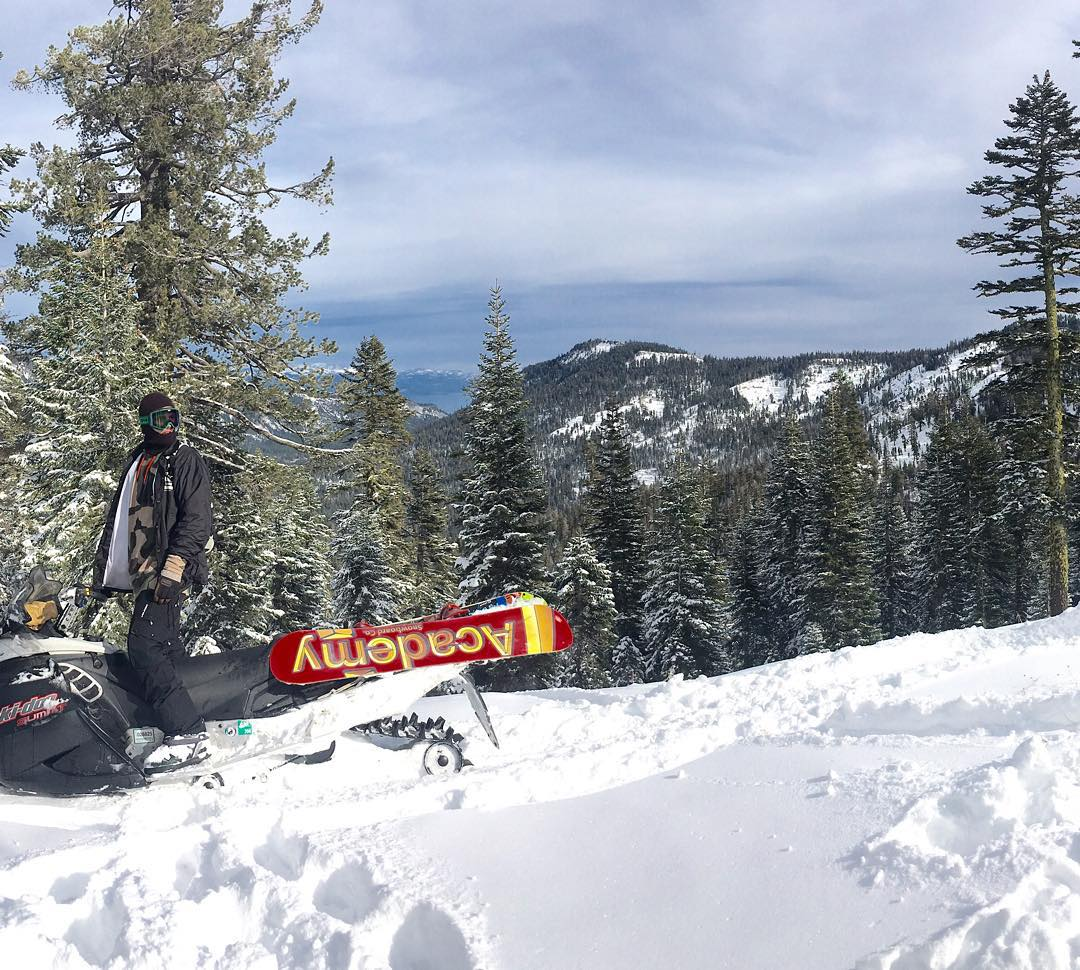 Winter has arrived in Tahoe!! Our good homie @_dairydan_ putting the #propacamba to the test!! #gameon