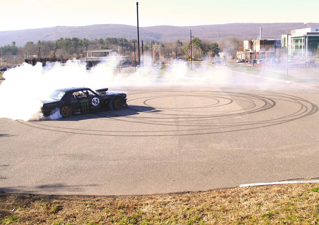 The streets at @ESPN HQ are still smokin'! Click the link on our profile page to check out a recap of @KBlock43's visit to Bristol, CT.