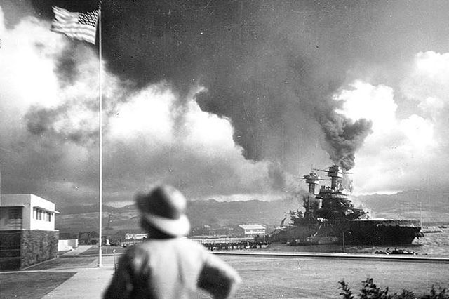 'A date that will live in infamy' Today marks the 74th anniversary of the Japanese attacks on the U.S. fleet at Pearl Harbor, Hawaii, an act of aggression that signaled America's entry into World War II. #pearlharbor #rememberthefallen #december7th1941