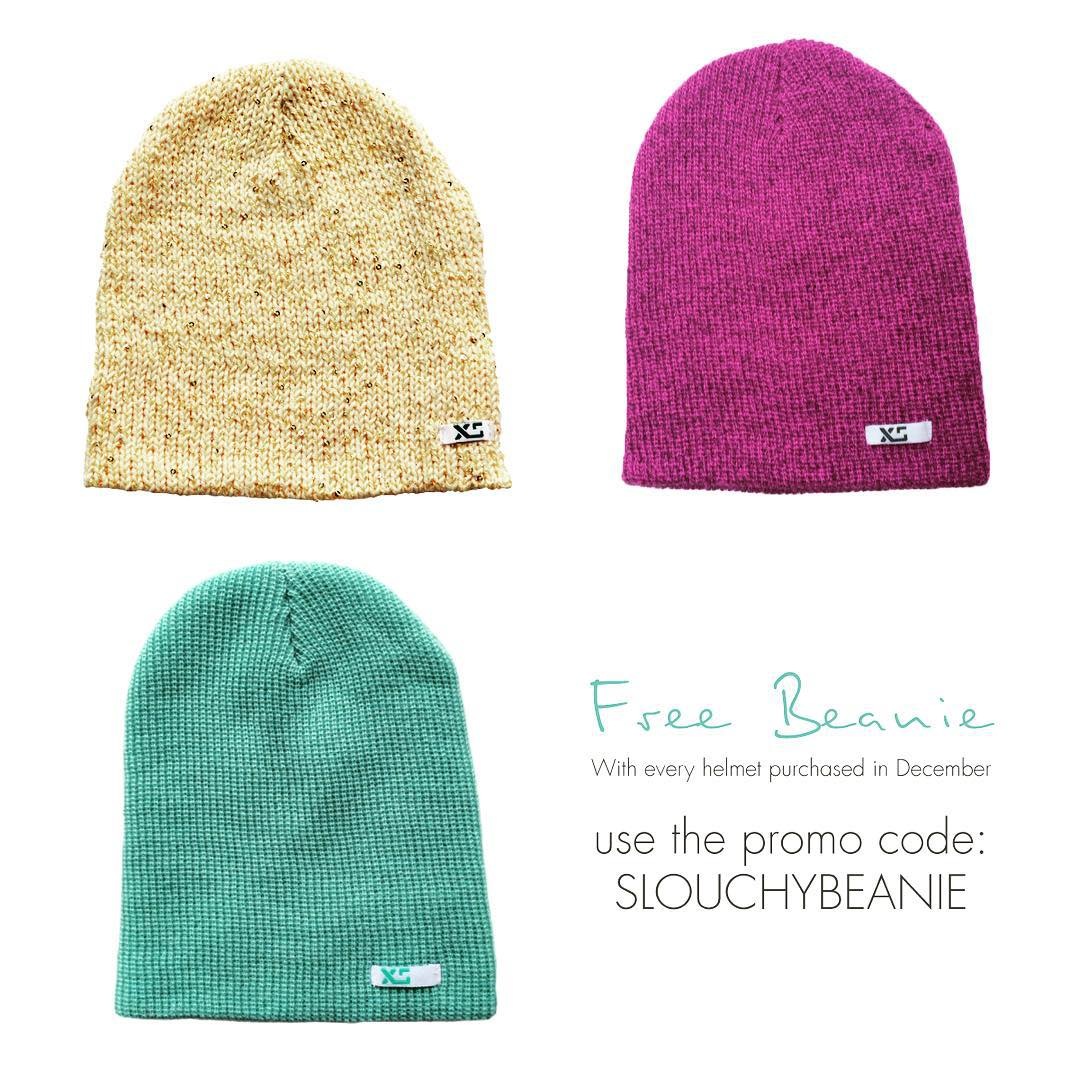 "Happy December! Throughout this month, we are including a free beanie with helmet purchase! Add the beanie of your choice to your cart in the Socks and Apparel shop, then enter coupon code ""slouchybeanie"" at checkout. The beanie will be deducted from..."