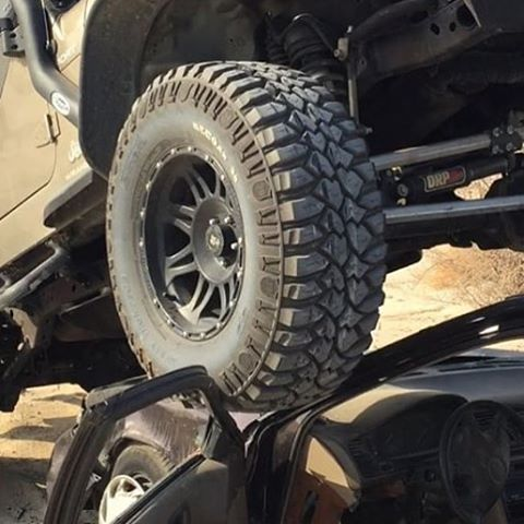 Fan photo! Putting those #deegan38 @mickeythompsontires to work! Looks like they might be good for my monster truck too!? Haha. Let's see how you use your Deegan38's use hashtag #deegan38tires so I can see them!