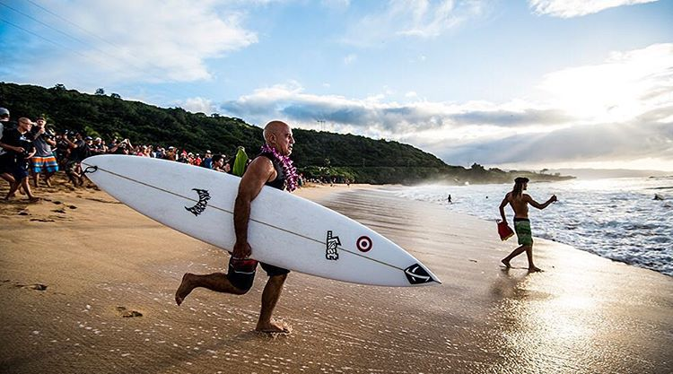 """Five Minutes With Uncle Mike"". Chatting up the world's oldest grommet, #MichaelHo, about perpetuating aloha and packing bombs at 58. Now on @surfline + lostenterprises.com. Link in bio. Photo: @ryan.moss Interview by @mattpruett"