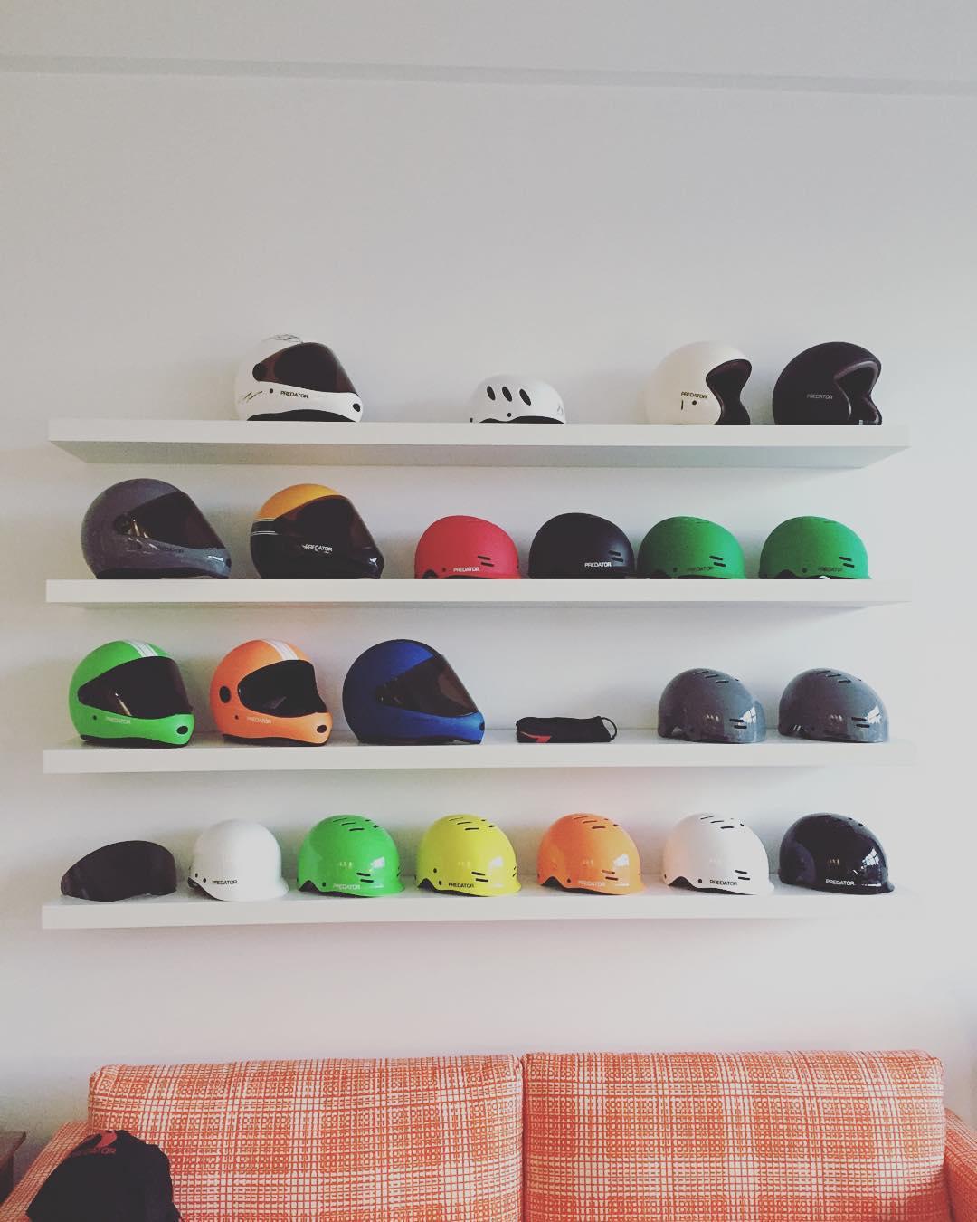 #predator #skateboard and #watersports helmets. #originalpredatordesign