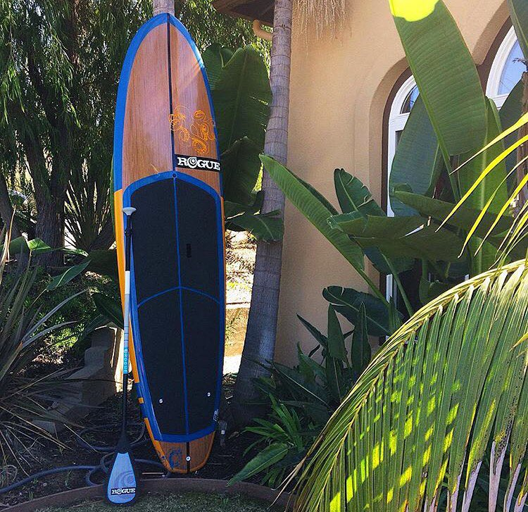"Our 10'2"" Allwater Cracken never disappoints. #roguesup #sup #paddle #standuppaddle"