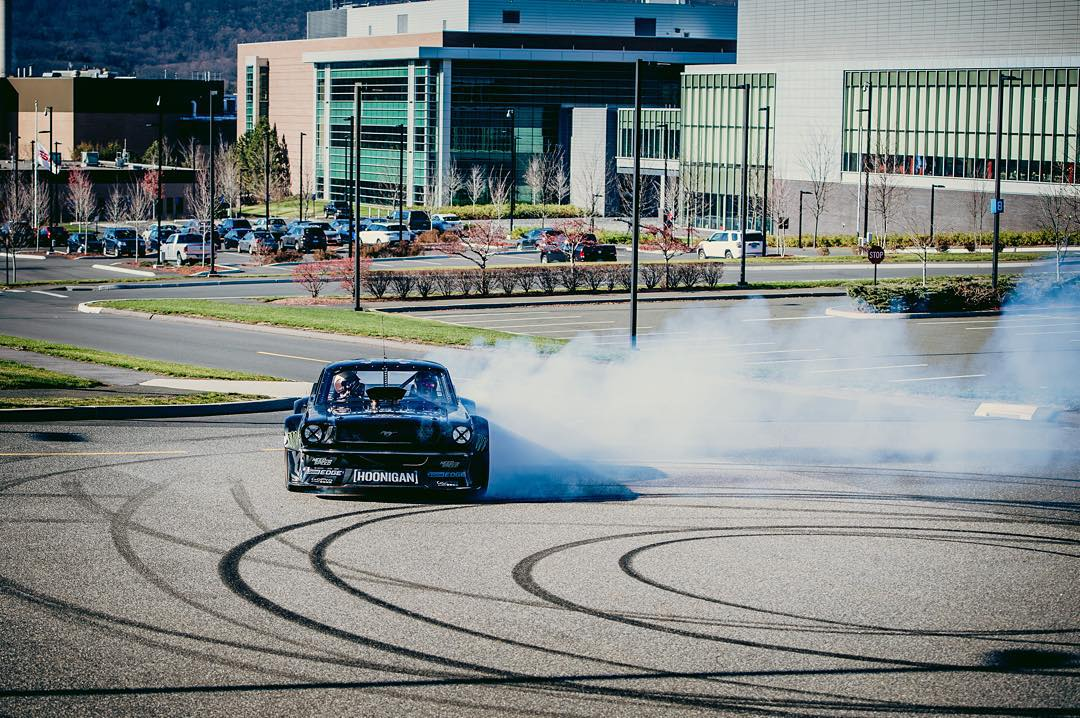 Five-time #XGames medalist @KBlock43 went berserk at @ESPN HQ!  Click the link on our profile page to check out his workday at The Worldwide Leader in Sports.
