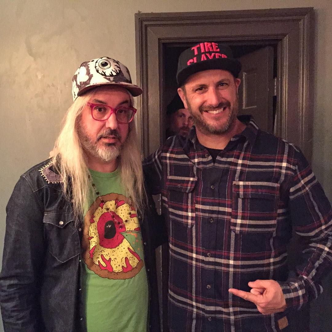 Last night's entertainment here in NYC: seeing Jay Mascis and his band, Dinosaur Jr. @DCShoes is a sponsor of the band's 30 year anniversary shows at the Bowery Ballroom here in the city, so I got to go meet the band (I've been a fan since the late...