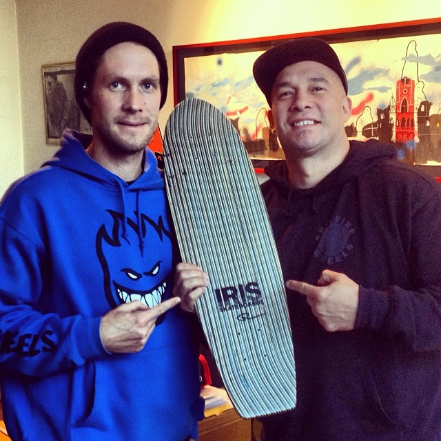 Speedy recovery @mickeydlx !! You'll be riding that Swisher Low Pro in no time. @dlxsf @dlxskateshop @nate_alton #recycledskateboards #irisskateboards #dlxsf