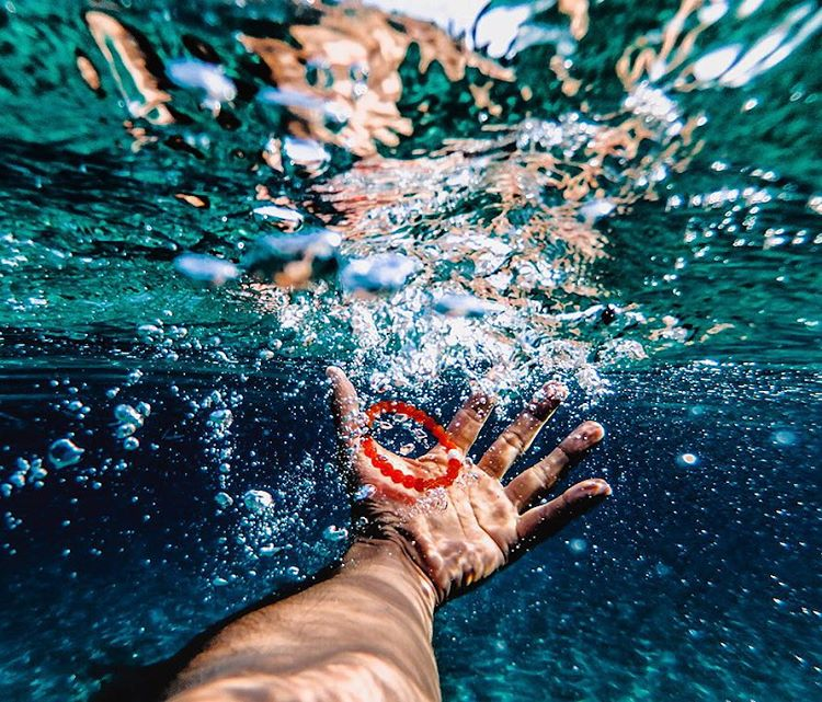 Submerged in clarity #livelokai  Thanks @cedricdasesson