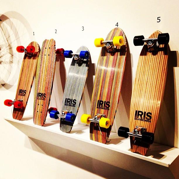 @museumofcraftanddesign New West Coast Exhibit. Featuring @iris_skateboards ! #recycledskateboards #irisskateboards