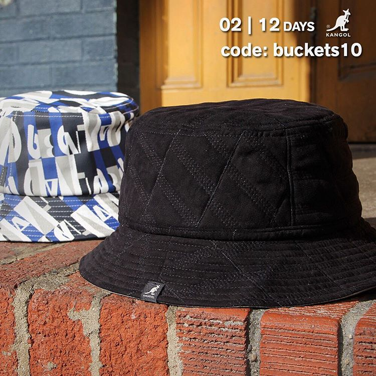 TODAY ONLY: 10% off #kangol Bucket Hats at http://bit.ly/1nkAzEc #12daysofsavings