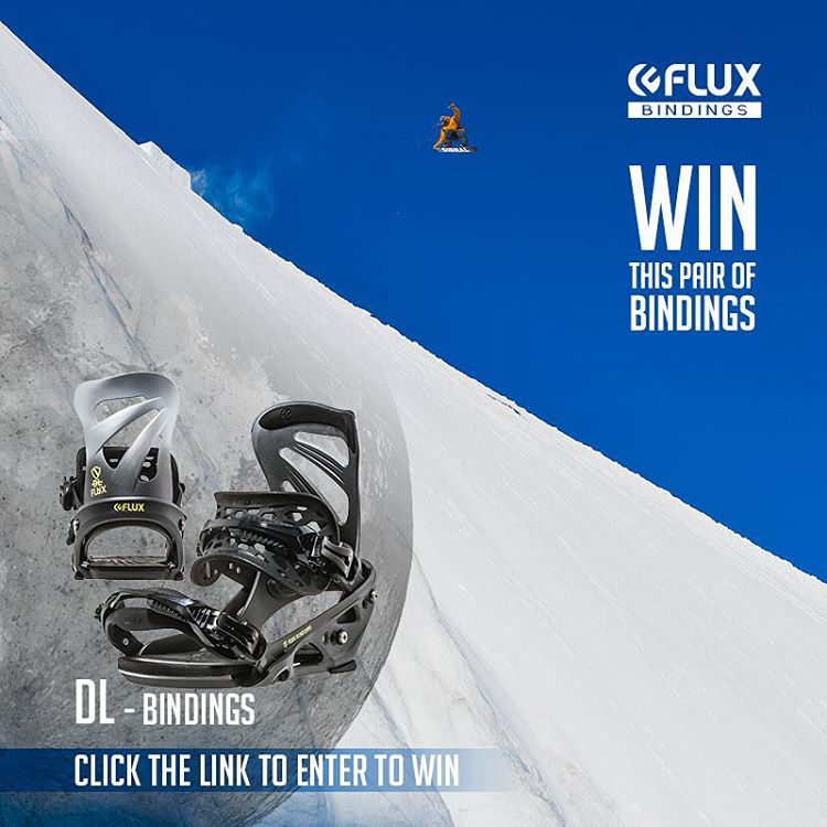 Here is a NEW way to WIN the top of the line DL Bindings! It's easy, just click the link in our Instagram profile to sign up for an additional entry to win. The winner will be selected by Flux team rider John Jackson On New Years Day. Good Luck!
