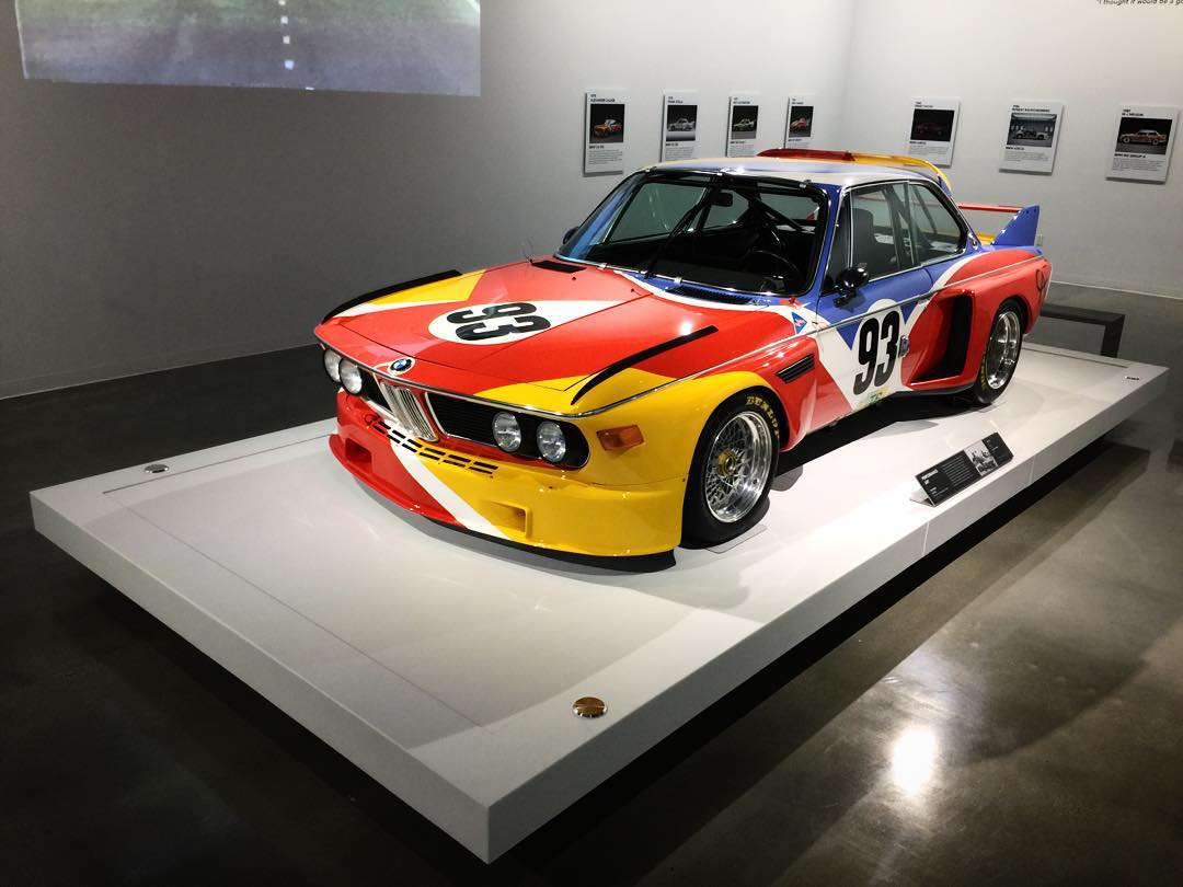 Anyone recognize this retired 75' 3.0 CSL race car? #ThePetersen