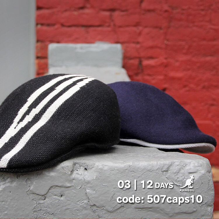 Day 3 of Savings: 10% off Classic #kangol 507 Caps at kangolstore.com with the code: 507caps10