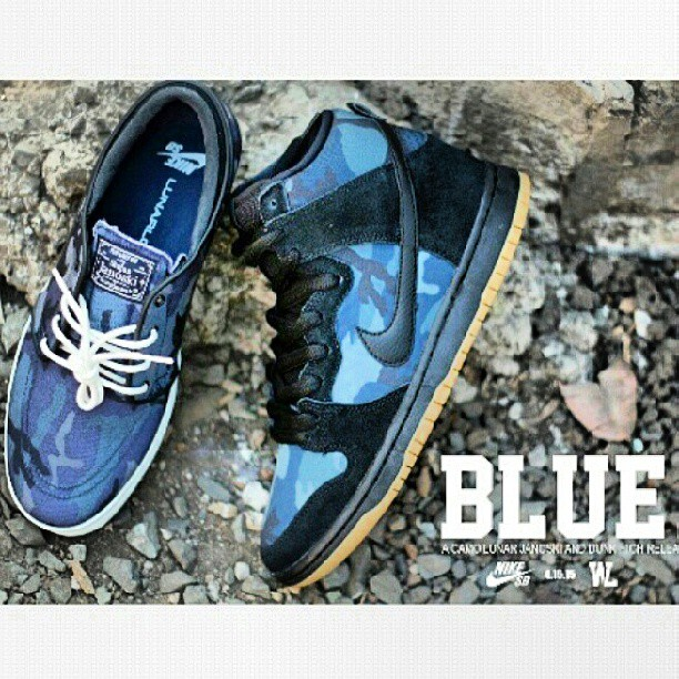 pack #bluecamo disponible #nikesbargentina #dunksbpro #janoskilunar