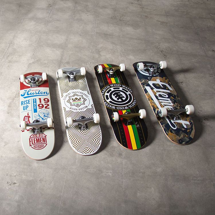 new completes in an array of graphics and sizes >>> grab one at your local skate shop or view them all on our site >>> #elementskateboards