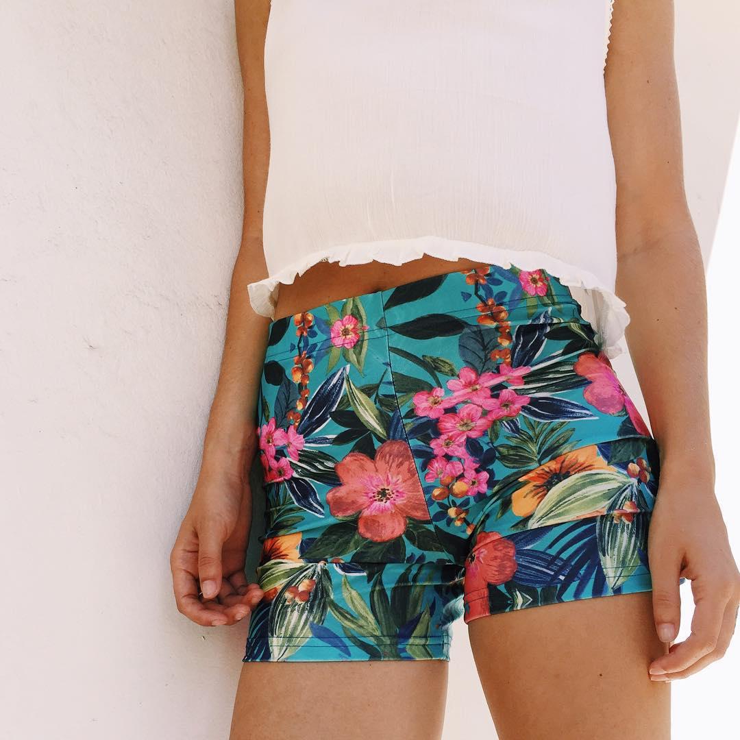 Beach Short Floral
