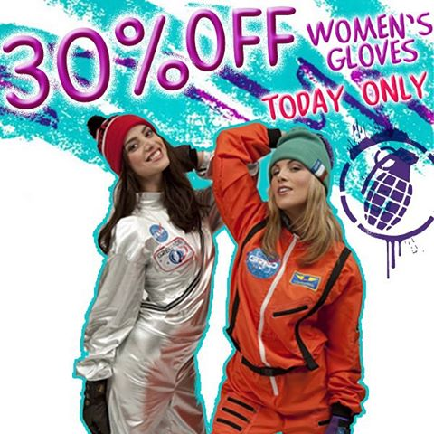 Our #wcw is you! All you radical babes out there. Use code WCW30 for 30% off all ladies gloves