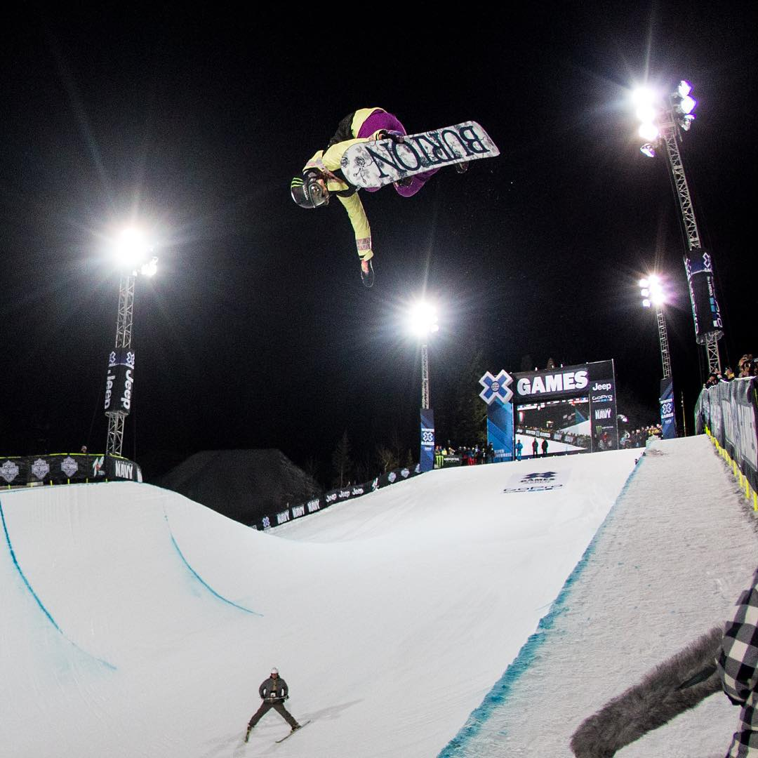 Defending ❌ Games Snowboard SuperPipe gold medalist @ChloeKimSnow is included in @espnW's #IMPACT25 list of the 25 athletes and influencers who have made the greatest impact for women in sports! (