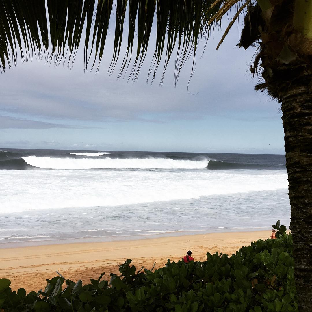 We've got clean up sets, broken boards, huge barrels and a birth into the #BillabongPipeMasters on the line right now! Tune in now to worldsurfleague.com @wsl