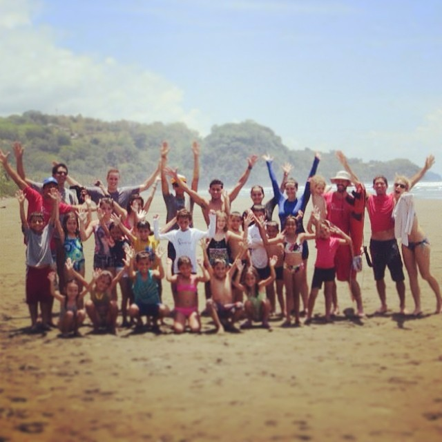 A great Service and Surf day here in #bahiaballena! #uvita #costaballena #costarica