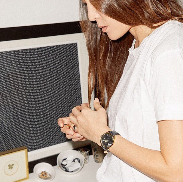 @stopitrightnow (Jayne Min) takes effortless style and ease to the next level with the #BulletLeather. #Nixon #WasteNoTime