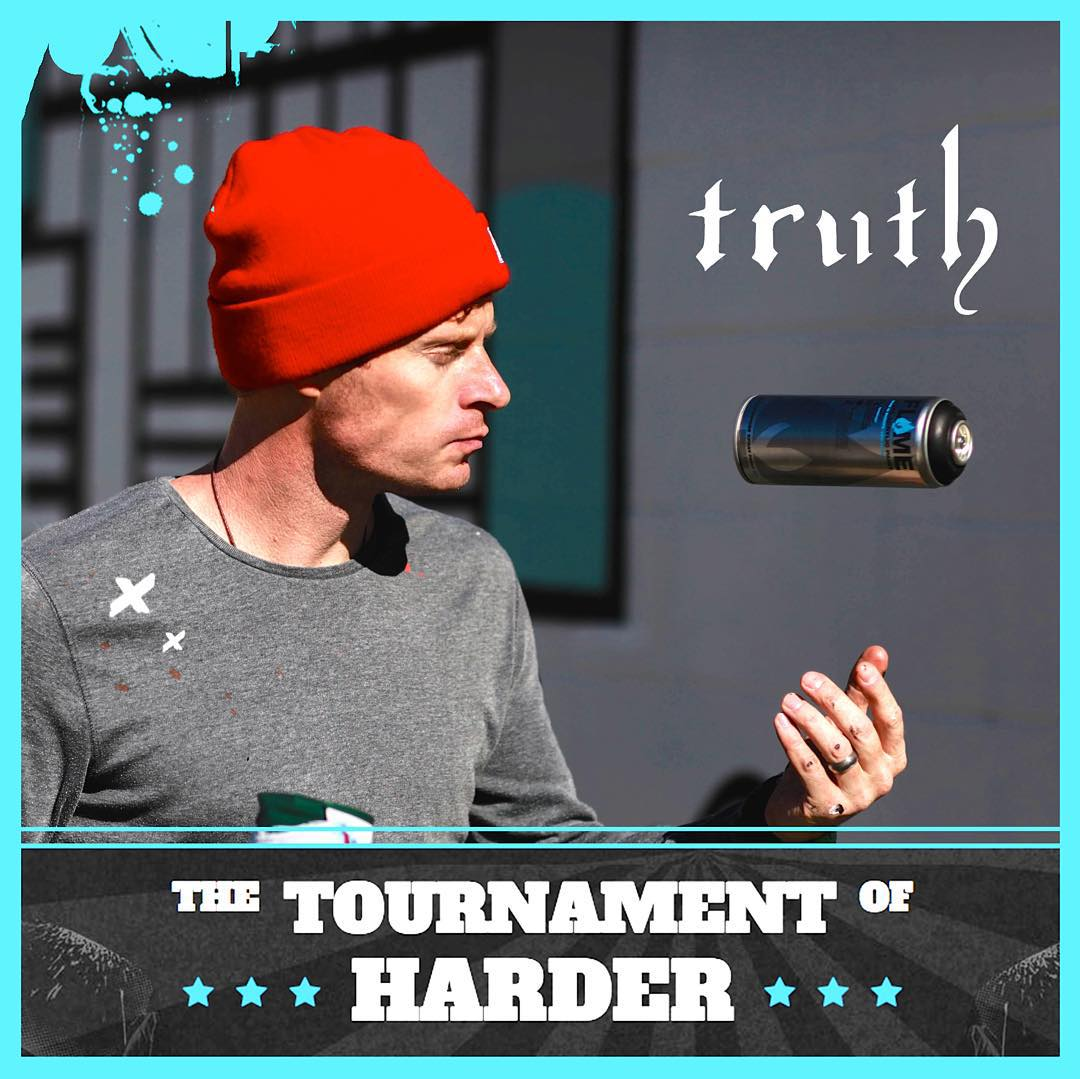 "Please vote for our very own Mike ""Truth"" Johnston!! He's in a national contest and currently is in 2nd place. It only takes a brief moment to vote. Thanks alot! • www.complex.com/HARDER • #‎chooseHARDER‬ #spratx"