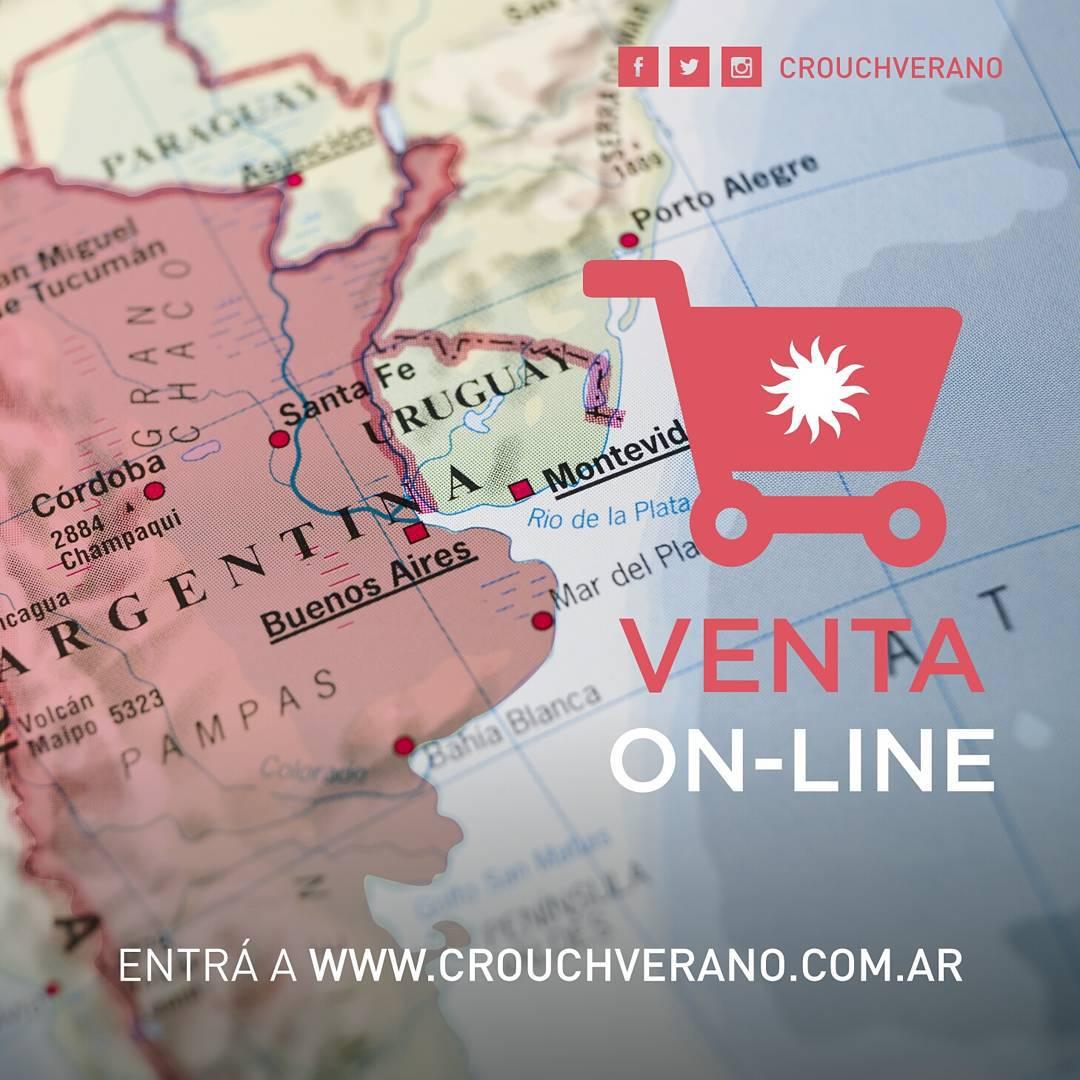 ⚠ Atención Argentina ⚠: ya está habilitada la VENTA ON-LINE con envíos a todo el país. ¡Viví la experiencia de comprar desde tu casa! #CrouchOnLine