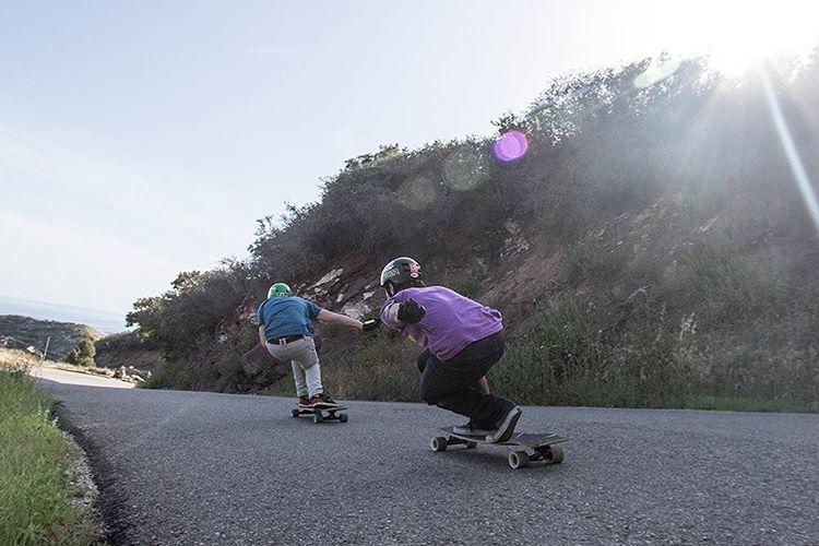 A throwback to a run through a Santa Barbara Classic with Sean Woolery (@seanwoolery1) and Garrett Creamer (@garrett_creamer)
