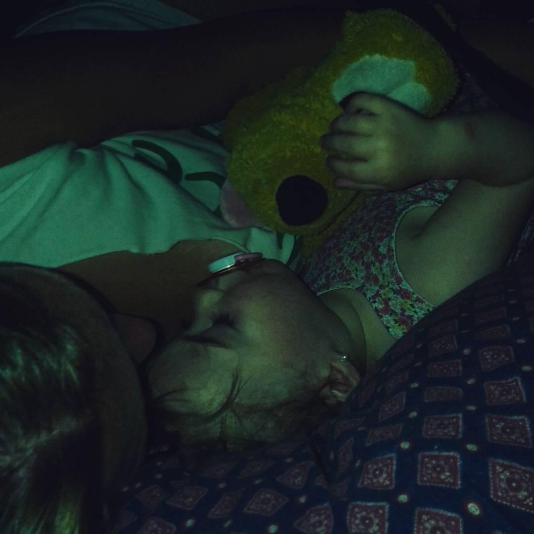 Sshhh sobrina durmiendo. Hay un infiltrado. #Pluto