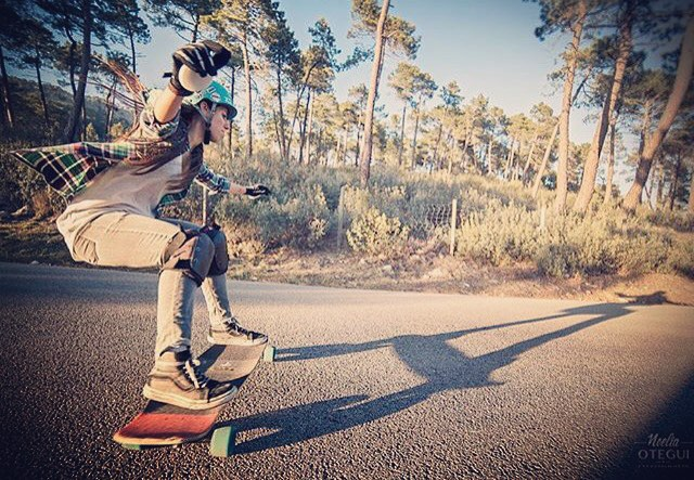 @valeriakechichian always pushing herself and the industry to showcase rad women around the world @longboardgirlscrew
