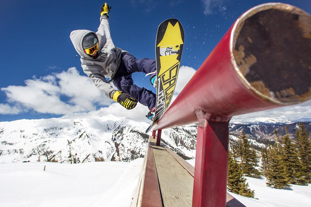 During #XGames, college students can shred @AspenSnowmass for only $43 a day!  Slide over to AspenSnowmass.com to snag a lift ticket.