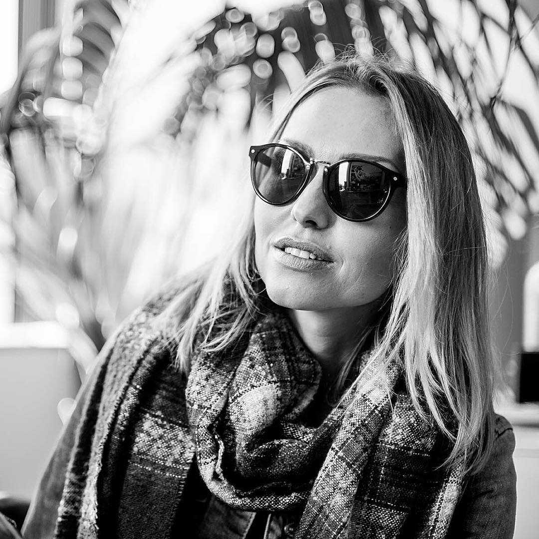 Always stoked when @leticiacline comes through the #VonZipper office to shoot the breeze. #Stax #SupportWildLife --- Want these shades? Click the link in our profile!