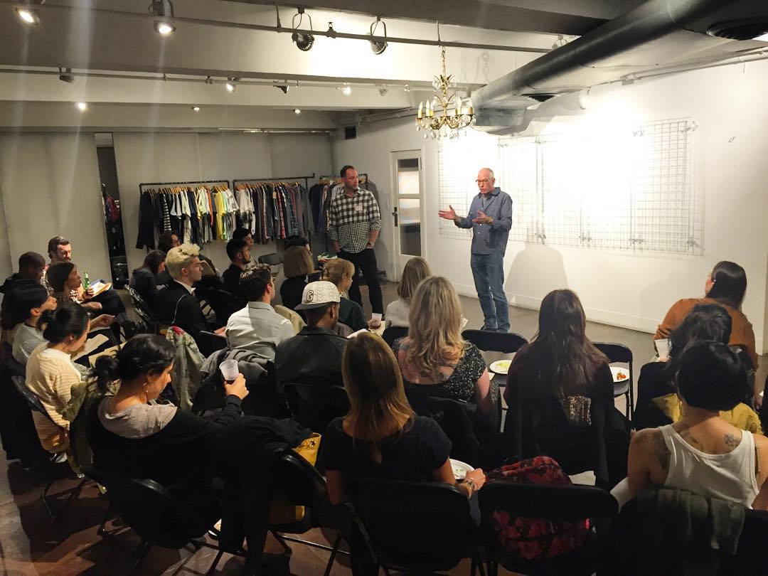 Threads 4 Thought & Bombfell brand seminar. A great night spent learning, talking & meeting new people! #bombfell #brandseminars #livesustainably @bombfell