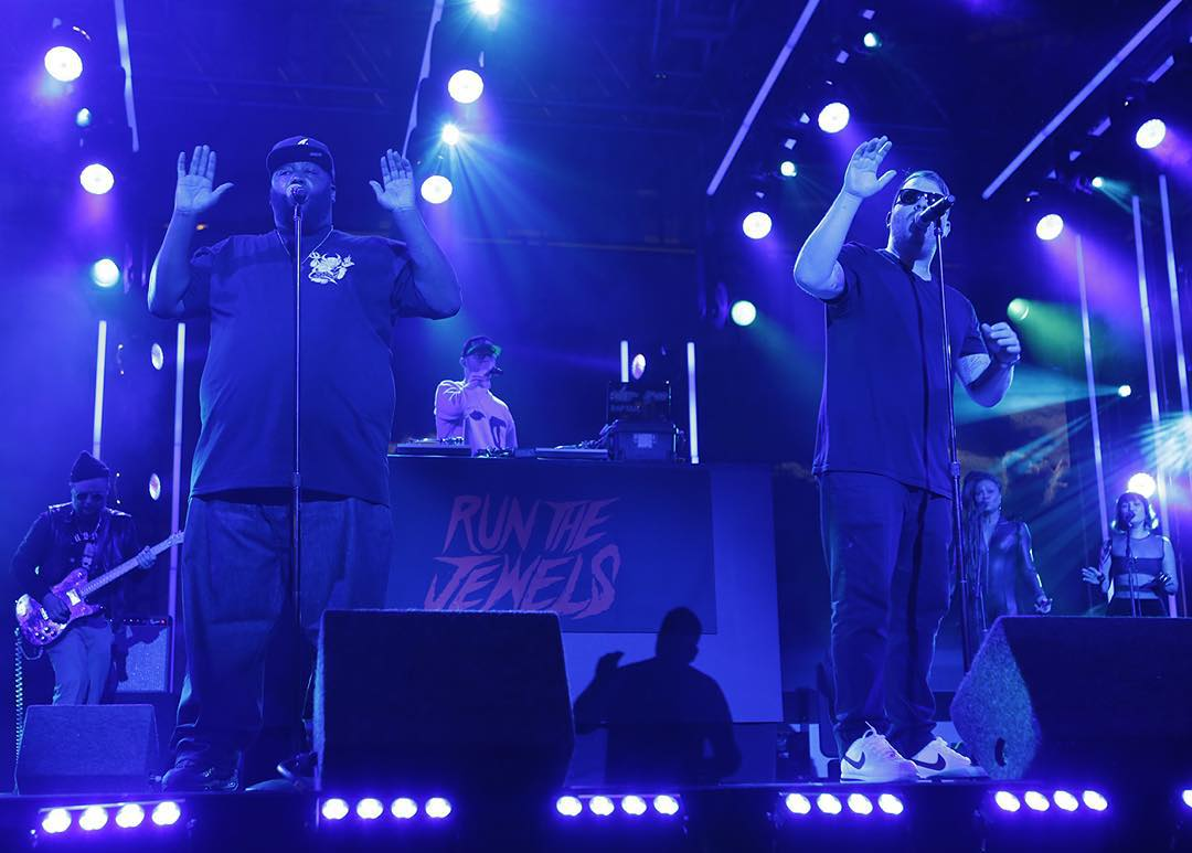 #XGames Aspen performers @Run_The_JewelsGTO are rapping on @JimmyKimmelLive right now!  Check 'em out on ABC.