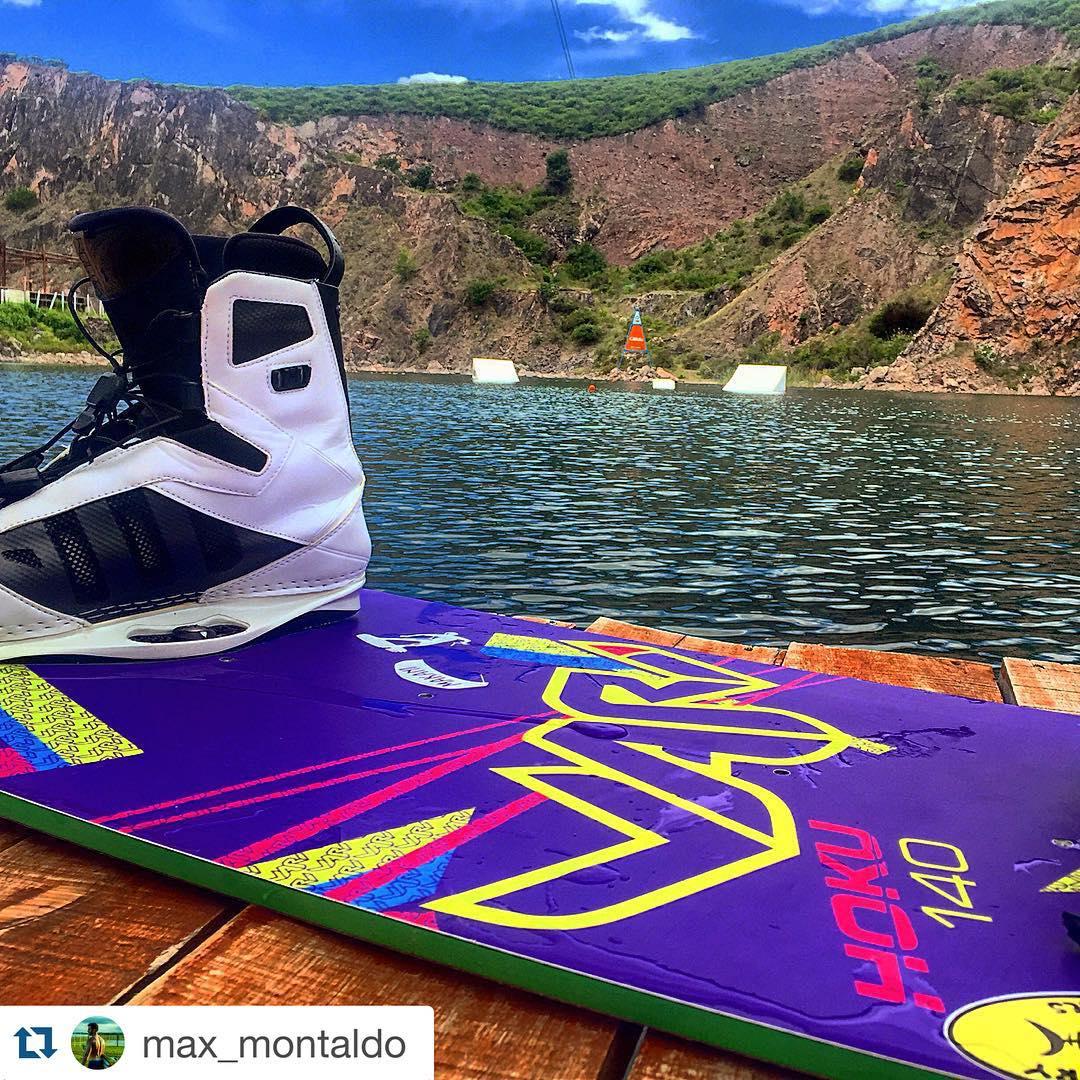@max_montaldo ready for action in @lagunaazulwakepark