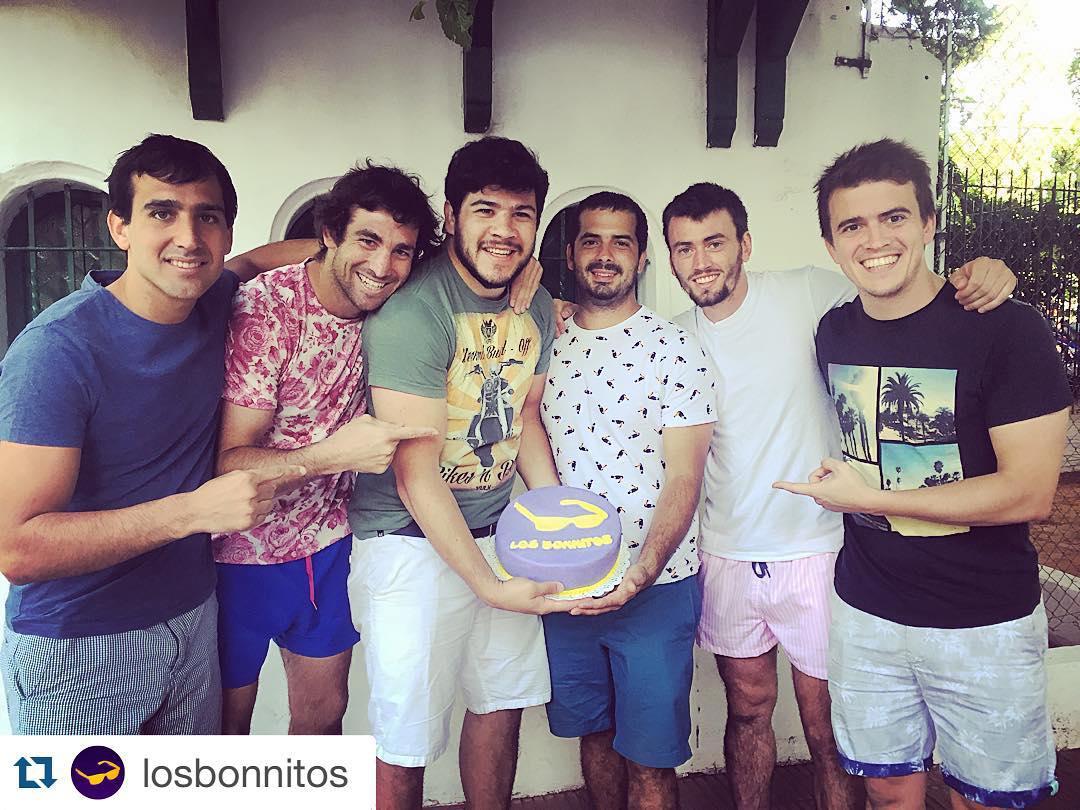 @pipemuslera luciendo su Ur T-Shirt en los 3 años de @losbonnitos  Felicitaciones!