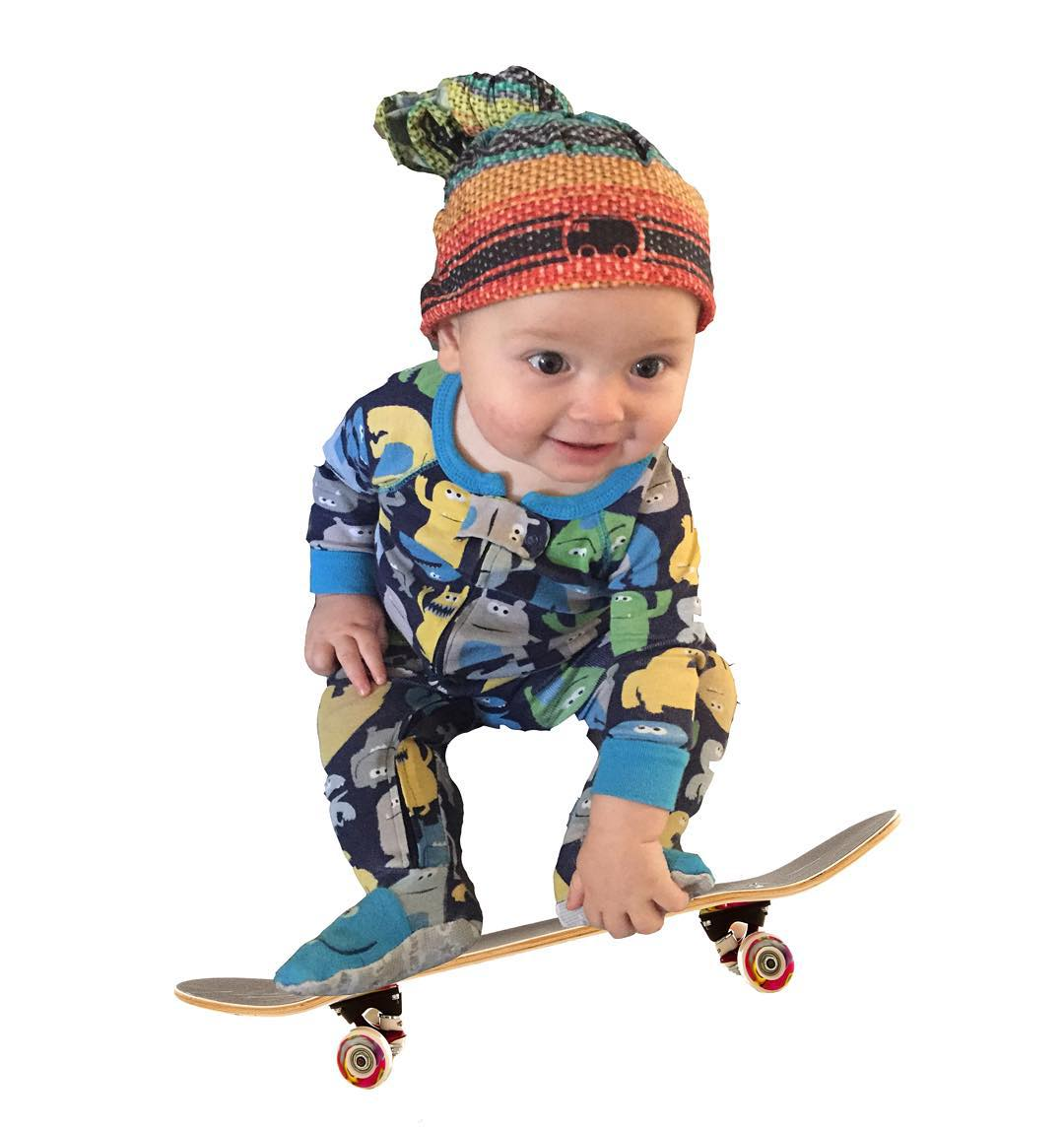 Stocking stuffers to get the whole family as stoked as baby Teddy. Get yours now www.stokedgoods.com