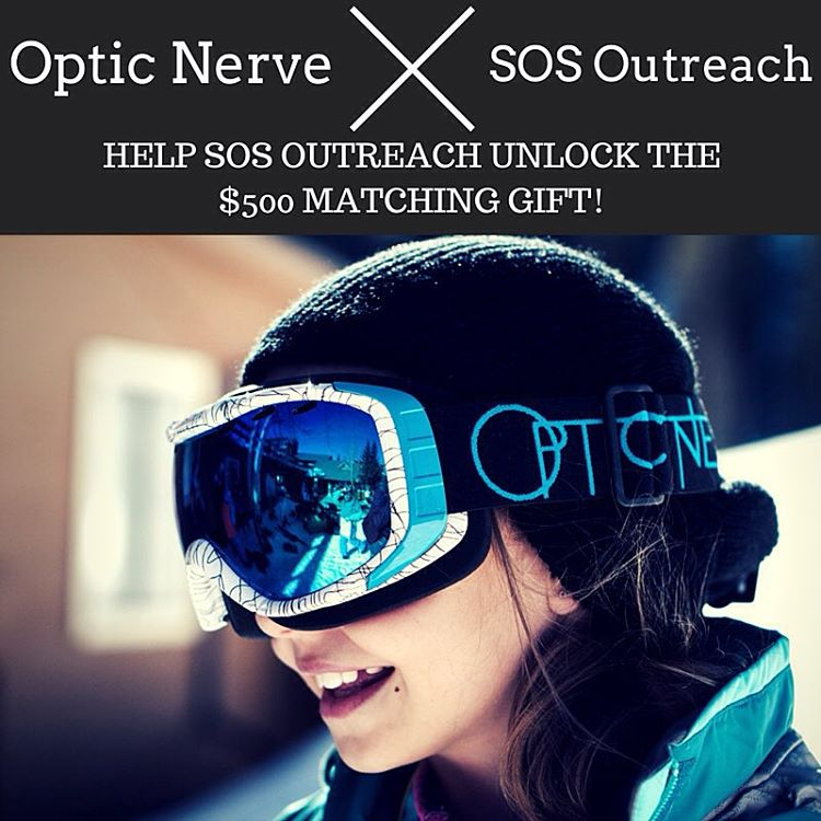 Less than 14 hours left until the end of our #givethegood campaign and our friends at @opticnerveeyewear have put up a $500 match to close out strong!  Will you join us to provide outdoor adventures for youth this holiday? Remember, EVERY gift no...