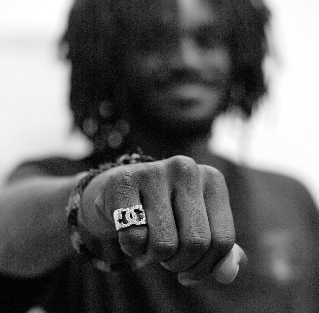 @cyril_killa came up on some new hardware! Photo: @blabacphoto #CyrilJackson #DCShoes