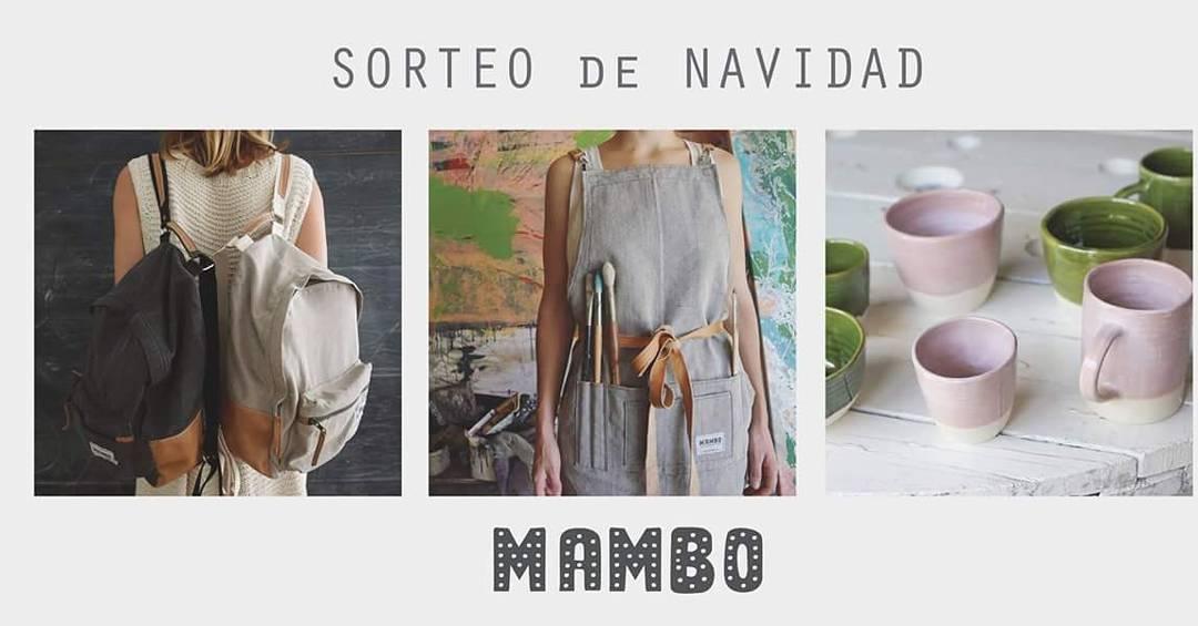 Sorteo Navideño!  1. Seguinos  en instagram: @mambobackpacks  2. Mencioná a 3 amigos en esta foto 3. Pone LIKE a la foto ☝ ➡ Participas por una mochila, delantal o kit de #mambocasa . Se sortea el 18 de diciembre.